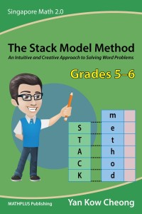 Part 2 of the two-book series on the Stack Model Method—it covers before-after word problems on topics like Ratio, Proportion, and Percentage.